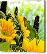 Sunflower Bouquet 2 Canvas Print