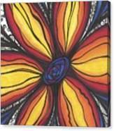 Sunflower Burst Canvas Print