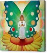 Sunflower Fairy Canvas Print