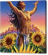 Sunflower - Glorious Success Canvas Print