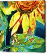 Sunflower Head 4 Canvas Print