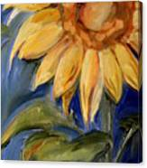 Sunflower Oil Painting Canvas Print