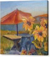 Sunflower Picnic Canvas Print