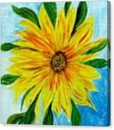 Sunflower Sunshine Of Your Love Canvas Print