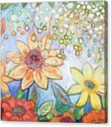 Sunflower Tropics Part 2 Canvas Print