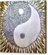Sunflower Zen Canvas Print