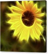 Sunflowers-4986-fractal Canvas Print