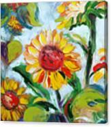 Sunflowers 6 Canvas Print