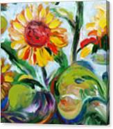Sunflowers 9 Canvas Print