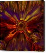 Sunflowers Expressive Canvas Print