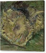 Sunflowers Gone To Seed Paris, August - September 1887 Vincent Van Gogh 1853  1890 Canvas Print