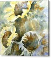 Sunflowers Ill Canvas Print