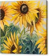 Sunflowers Part 2 Canvas Print