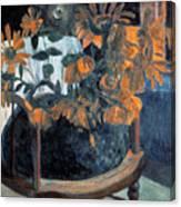Sunflowers, 1901 By Paul Gauguin  Canvas Print