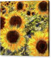 Sunflowers Summer Van Gogh Canvas Print