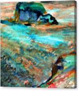 Sunion Greece Canvas Print