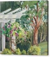 Sunken Garden Canvas Print