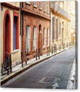 Sunlight In Toulouse Canvas Print