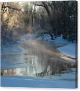 Sunlit Creek  Canvas Print