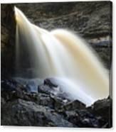 Sunlit Falls Canvas Print