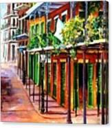 Sunlit New Orleans Canvas Print