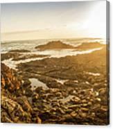 Sunlit Seaside Canvas Print