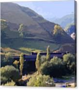 Sunlit Valley  Canvas Print
