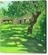 Sunlit View Canvas Print