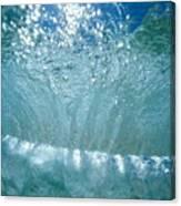 Sunlit Wave Canvas Print