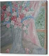 Sunlit Window II Canvas Print