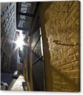 Sunny Alley Canvas Print