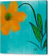 Sunny And Hot Canvas Print