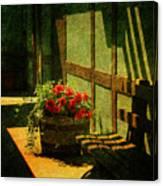 Sunny Corner Canvas Print