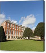 Sunny Day At Hampton Court Palace London Uk Canvas Print