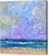 Sunny Day At The Sea Canvas Print