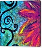Sunny Day Purple Canvas Print