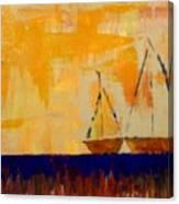 Sunny Day Sail Canvas Print