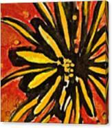Sunny Hues Watercolor Canvas Print