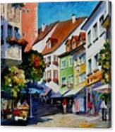 Sunny Meersburg - Germany Canvas Print