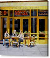 Sunny Side Of Bleecker Canvas Print