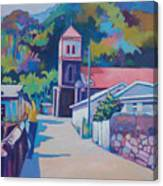 Sunny Soufriere Canvas Print