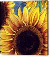 Sunny Sunflowers Canvas Print