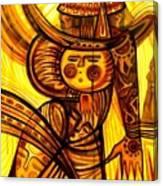 Sunny Warrior Canvas Print
