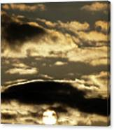 Sunny With Chance Of Clouds Canvas Print