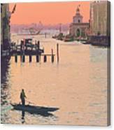 Sunrise - Venice Canvas Print