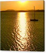 Sunrise 6 8 17 Malletts Bay Canvas Print