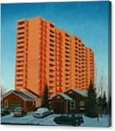 Sunrise Ajax Canvas Print