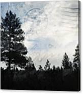 Sunrise Along The California Oregon Border Canvas Print