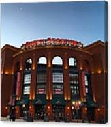 Sunrise At Busch Stadium Canvas Print