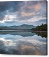 Sunrise At Chocorua Lake -2 Canvas Print